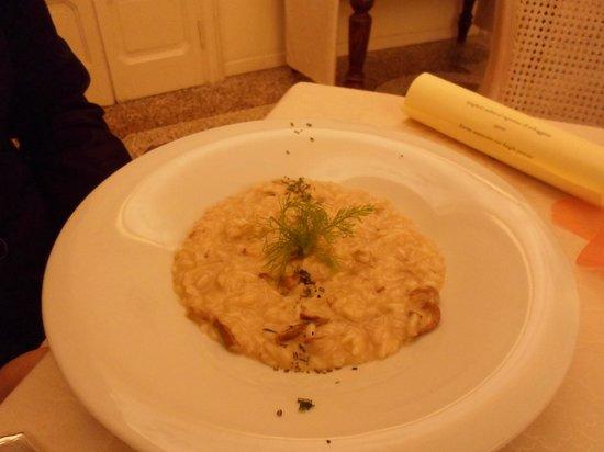 risotto ai funghi porcini - Foto di Hotel Villa Giulia Ristorante Al ...