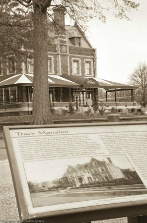 Char's at Tracy Mansion: Historic Plaque