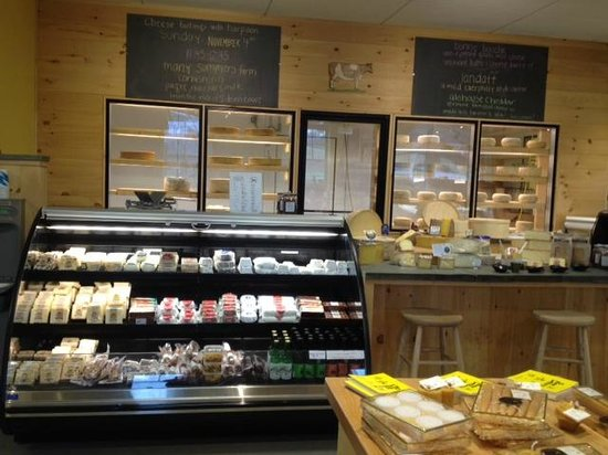 The Cheese Board: Cheese Counter and Cooler