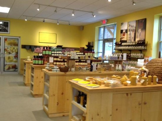 The Cheese Board: Vermont Specialty Foods Section