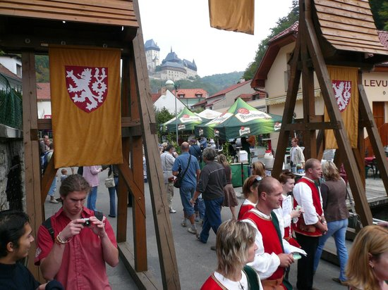 Pension Bellevue: vintage in Karlstejn