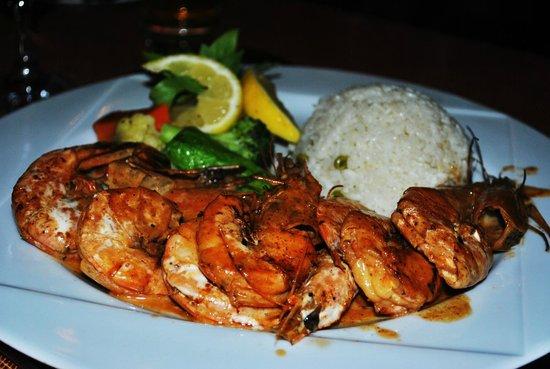 Chez Pascal : PRAWNS yummy!