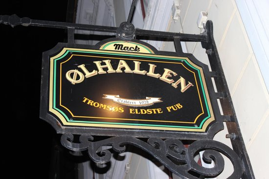 Mack's Beer Hall: Olhallen, Tromso.