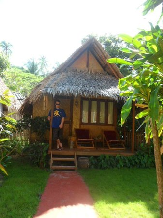 Baan Panburi Village At Yai Beach: Our love hut at the Bann Panburi Village