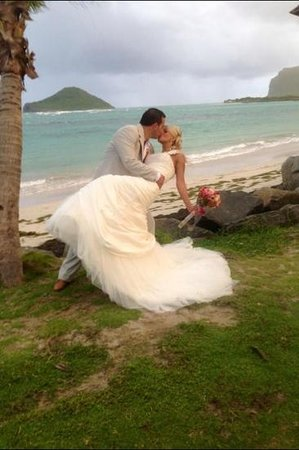 Coconut Bay Beach Resort & Spa: our wedding day 8-12-12