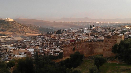 Dar Attajalli: View over Fez