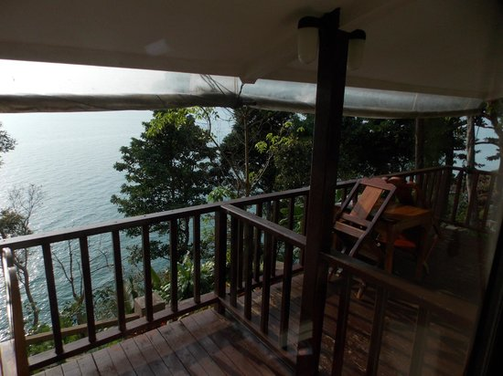 Chang Cliff Resort: Room S8 and S9 attached balconies