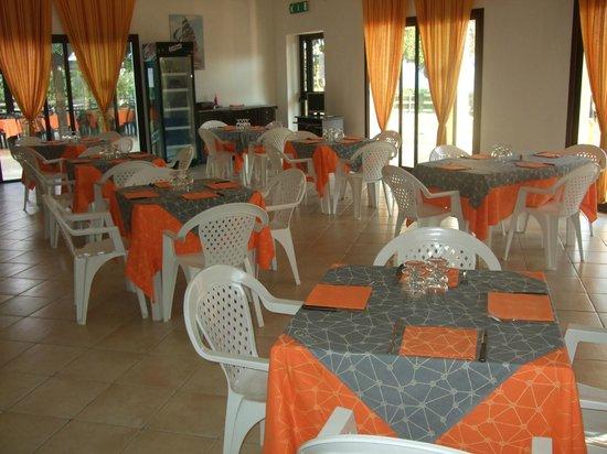 Ristorante Pizzeria Tesonis Beach: Sala interna
