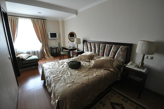 Room 401, Daphne Hotel, Sultanahmet, Istanbul, May 2012