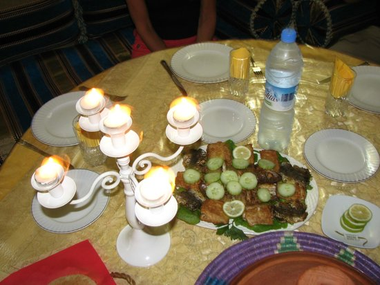 Riad Leila Chambre d'hotes: Poissons grillés