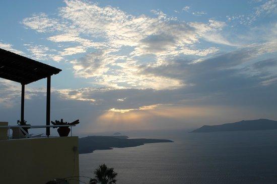 Dana Villas: Puesta de sol