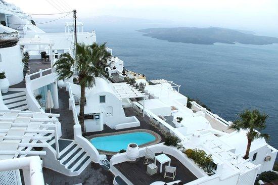 Dana Villas: Vista desde la piscina