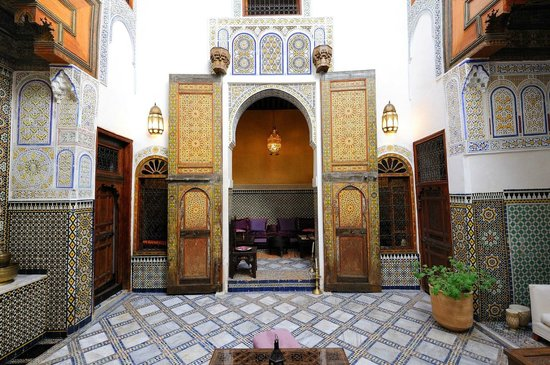 Dar Attajalli: Courtyard