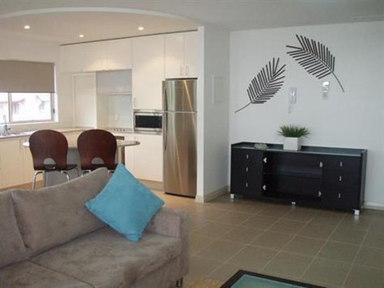 Watermark Hervey Bay: Watermark Apartments living area