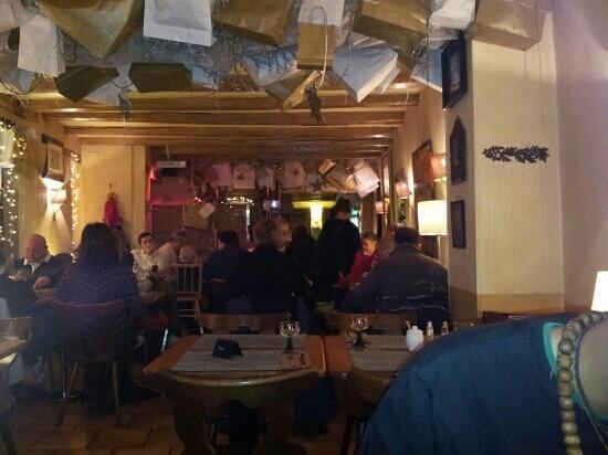 Les Remparts d'Obernai : Le soir semaine avant Noël