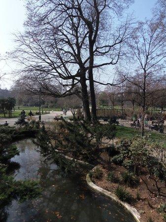 Taman Monceau (Parc Monceau): Parc Monceau