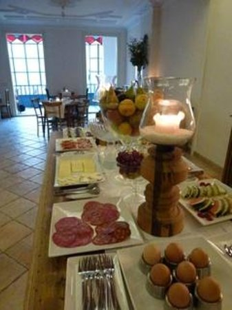 Vrabac Guesthouse: Breakfast at Vrabac