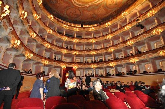 Teatro Comunale: interno teatro
