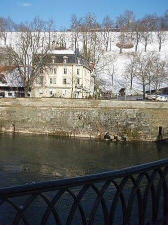 Hotel Landhaus: Landhaus Hotel, by the river, December 2012