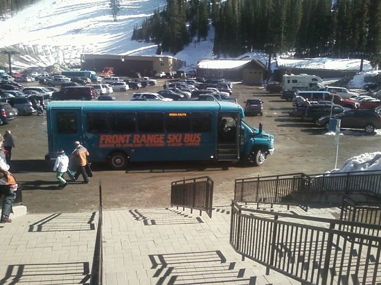 Front Range Ski Bus at Loveland Ski Area