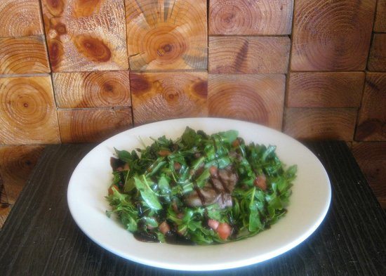 "Bennigan's: Grilled ""Bricked"" Rocket Salad"