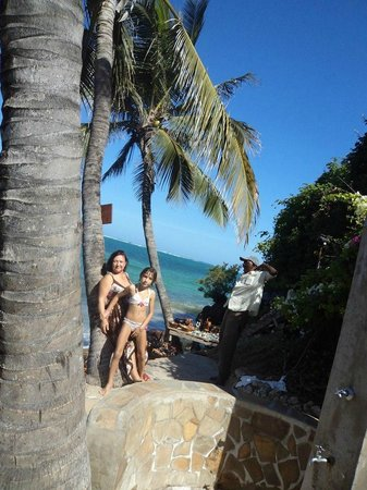 Voyager Beach Resort: Kızımla beraber voyager da