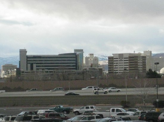 Grand Sierra Resort and Casino : View Of Downtown From Our Room