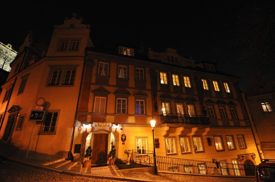 Alchymist Prague Castle Suites: Entrance Alchymist Praque Castle Suites