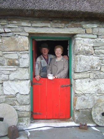 Hennigan's Heritage Centre : Tom at the half-door