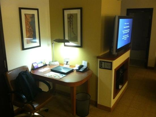 Hyatt Place Columbus Dublin : Nice work space