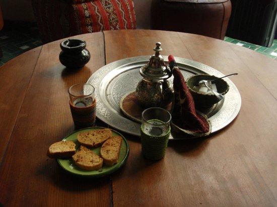 Riad Vert Marrakech: freshly homemade pastry