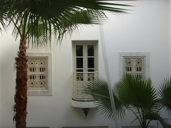 Riad Vert Marrakech: Juliette balcony room