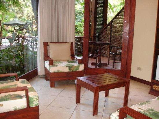 Hotel Bosque del Mar Playa Hermosa: sitting area