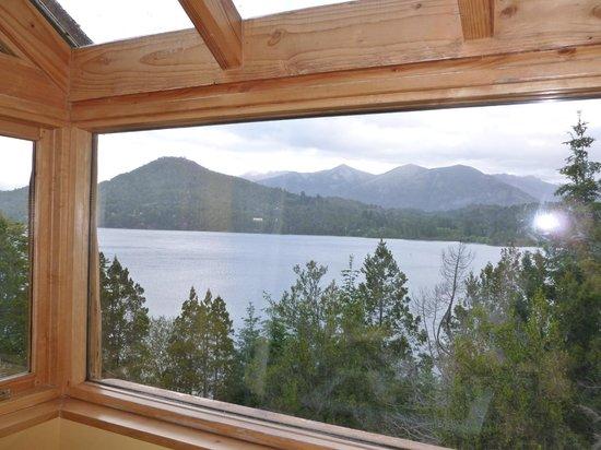 Peninsula Petit Hotel: La habitación tiene como un balconcito con vista al lago.. sin palabras