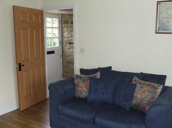 Burradon Farm Houses and Cottages: View From Lounge To Front Door