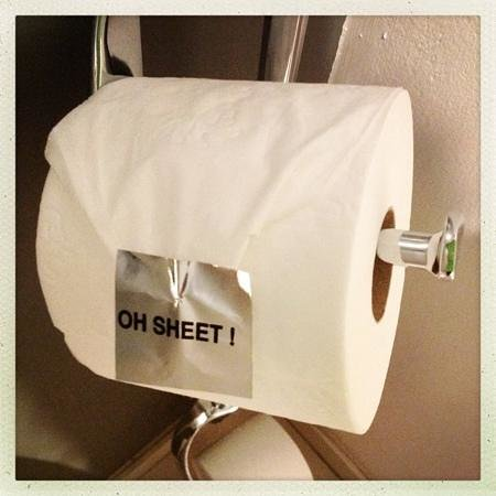 Protea Hotel by Marriott OR Tambo Airport: They even have the best toilet paper labels in town!