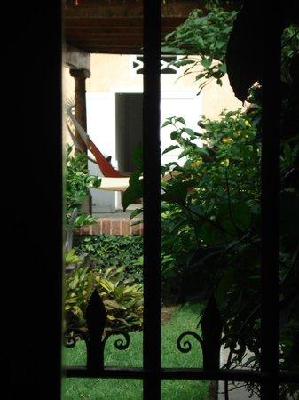 Mansion del Pensativo: Veiw from my suite window...