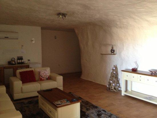 Underground Bed & Breakfast: .... to that...