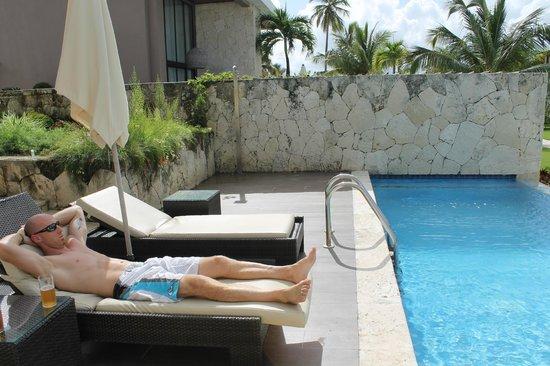 Catalonia Royal Bavaro: Pool suite...glorious!