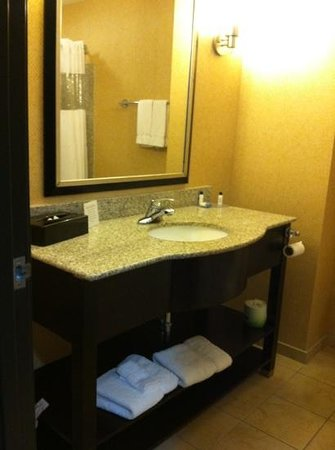 Best Western Plus Flowood Inn & Suites : Nice bathroom.