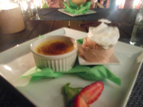 Restaurant Eden: Crème Brûlée