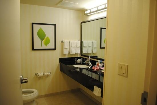 Fairfield Inn & Suites Titusville Kennedy Space Center: Bathroom