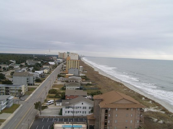 Atlantic Breeze Ocean Resort, Oceana Resorts: View from 1201