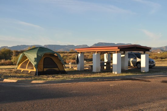 Balmorhea State Park: Campsite #15