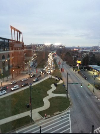 Hampton Inn Baltimore-Downtown-Convention Center: The view from room 710