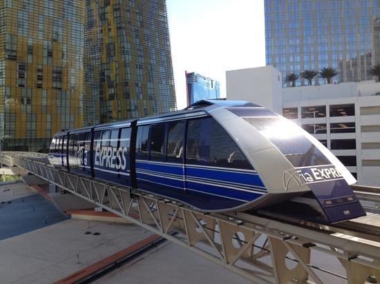 ARIA Resort & Casino: Tram