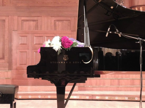 Saydashev State Big Concert Hall: piano