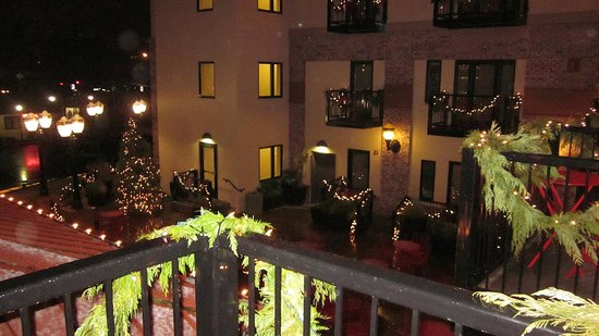 Inn at the 5th: A snowy December evening