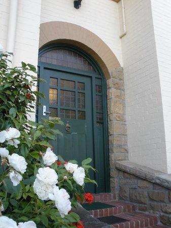 The Elms of Hobart : front door