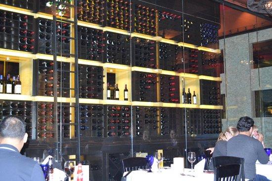 Texas de Brazil: Wine Rack